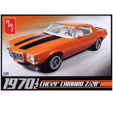 camaro z28 amt scale model kit 1970 1 2 chevy camaro z28