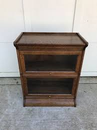 3 section lawyer bookcase for sale antique barrister lawyer