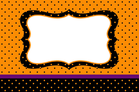 print out halloween party invitations orange purple and black free printable invitations is it for