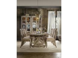 hooker furniture chatelet 7 piece dining set with refectory hooker furniture chatelet 7 piece dining set with refectory trestle table