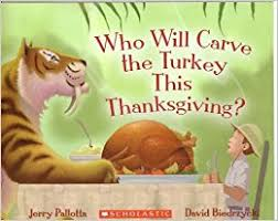 who will carve the turkey this thanksgiving jerry pallotta