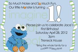 cookie monster baby shower cookie monster birthday invitations u2013 gangcraft net