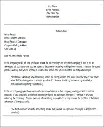 Sending Resume To Company Without Job Opening by 81 Sample Letters