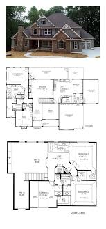 floor house plans craftsman country traditional house plan homes fancy houses