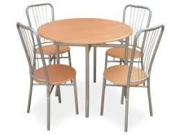 table ronde et chaises table ronde 4 chaises moulin coloris hêtre dealabs com