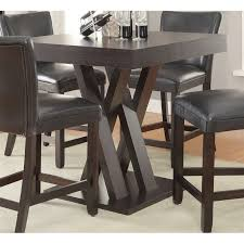 Coaster Dining Room Sets Coaster Counter Height Dining Table In Cappuccino 100523