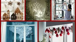 diy window decorations ideas winter decorating ideas