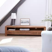 Meuble Tv Longueur Maison Et Mobilier D Intérieur Meuble Tv Bois Massif Meubles Télé Chene Teck Acajou Tikamoon