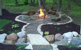 Ideas For Backyard Landscaping Landscape Pit Landscaping Around A Pit Landscape