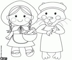 material red riding hood coloring pages printable games 2
