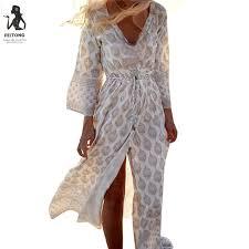 feitong women u0027s boho chiffon long maxi dress uk women loose summer