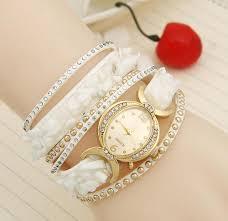 fashion bracelet images White fashion bracelet watch for girls aelomart jpeg