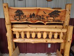 Log Bed Pictures by Gallery Of Rustic Furniture