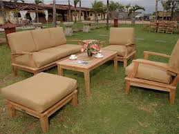 Rustic Patio Furniture Sets by Reclaimed Recycled Teak Patio Furniture Rustic Patio San Teak