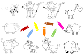 farm animal coloring pages android apps on google play