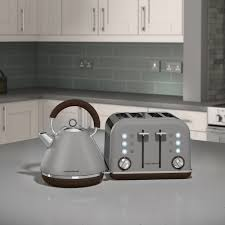 morphy richards accents premium 4 slice toaster pebble by
