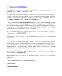 ideas collection sample of company introduction letter to client
