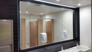 Beveled Mirror Bathroom by Bathroom Cabinets Rectangular Mirror With Beveled Glass Bathroom