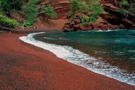 black sand beach hawaii black sand beaches pink sand beaches green sand beaches red