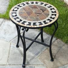 small round outdoor side table furniture small metal outdoor side table metal pedestal side small