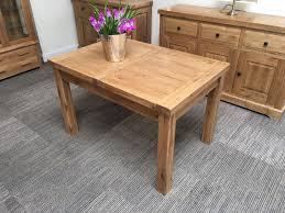 Chiltern Oak Furniture Oxford Solid Oak Extending Dining Table 4ft Oak Furniture Oakita