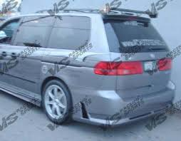 honda odyssey rear bumper honda odyssey vis racing octane rear bumper 99hdody4doct 002