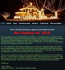 lighting up paxton the johnson christmas display home facebook
