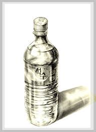 drawn bottle pencil sketch pencil and in color drawn bottle