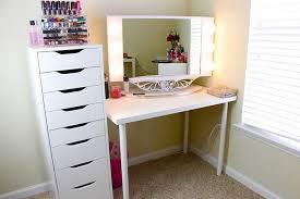 Ikea Malm Vanity Table Creative Of Ikea Malm Dressing Table Setup Vanity Corner Table