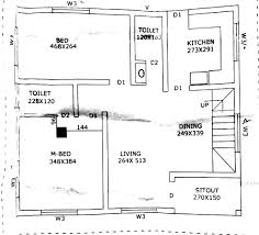 750 square feet 2 bedroom low budget modern contemporary single