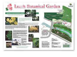 Leach Botanical Garden by Signs U0026 Banners Redbat Design