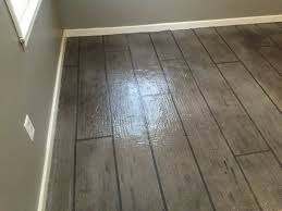 Laminate Flooring Underlayment For Concrete Floors All Around Surfaces Wood Look Concrete Overlay Flooring