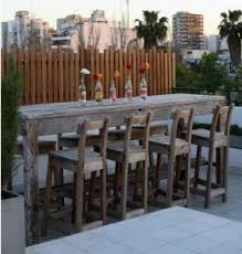Bar Height Patio Table And Chairs Bar Height Outdoor Furniture Breezesta Coastal Tete A