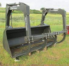 maxi 210 grapple fork bucket item a8632 sold august 28