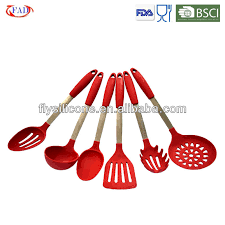 Kitchen Cooking Utensils Names by Hotel Kitchen Utensils Names Set Of 6 Pcs Fda Silicone Buy Hotel