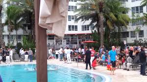 resident cocktail party flamingo north pool miami beach fl