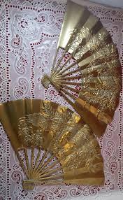 Chinese Fan Wall Decor by Brass Wall Decor Phoenix Design Oriental Fan Brass Fan Phoenix