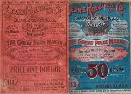 1898 1930 sears catalog covers