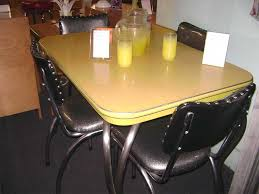 Yellow Retro Kitchen Chairs - 32 best formica tables images on pinterest retro kitchens