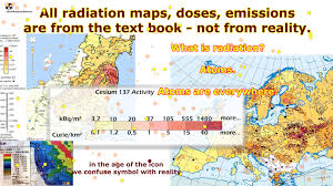 Fukushima Fallout Map by Edf