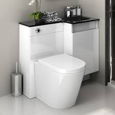 Bathroom Vanity Unit With Basin And Toilet Modern Bathroom Vanity Unit Basin Sink Storage Back To Wall Toilet