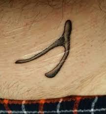 wishbone tattoo u2026 pinteres u2026