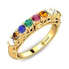 ladies rings designs images Navratna rings best designs price a kalyan jpg