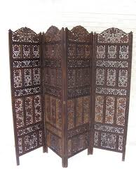 Furniture Extraordinary Wooden Four Panel Door Room Divider And