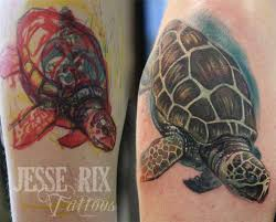 jesse rix tattoos tattoos animal sea turtle tattoo