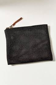 urban outfitters uo mesh makeup bag in black lyst