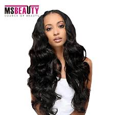 msbeauty grade 7a brazilian curly weave hair weave body wave hair