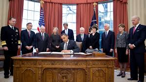 file president barack obama signs the new start treaty february 2