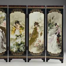 chinese room divider painting monet picture more detailed picture about chinese