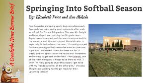 sports creekside vibe student magazine